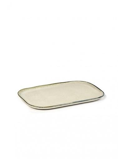 Serax Merci Beyaz Dikdörtgen Tabak 23X15Cm Beyaz